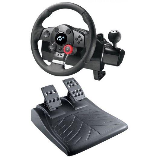 Logitech Driving Force GT + Pedál