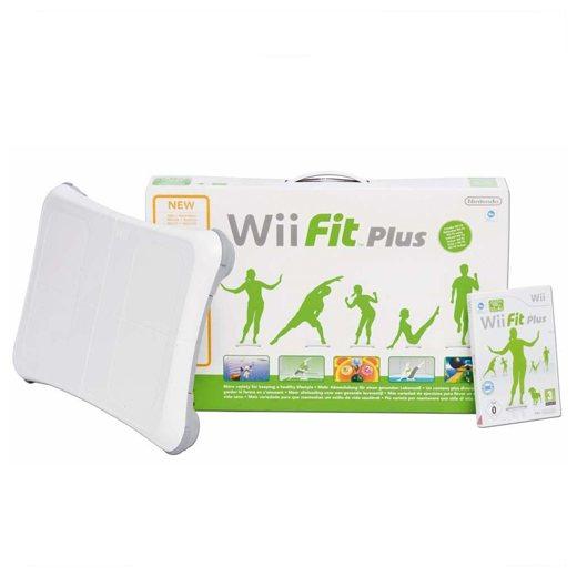 Wii Fit + Wii Fit Plus szoftverrel