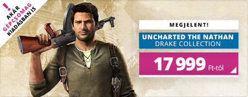 Itt az Uncharted The Nathan Drake Collection