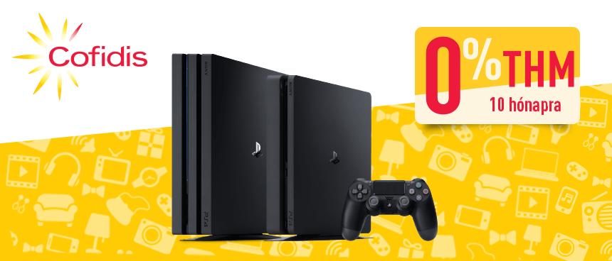 PS4 gépcsomagok 0%-os Cofidis hitelre 25d6d203b8