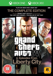 Grand Theft Auto IV The Complete Edition Xbox 360