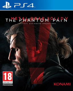 Metal Gear Solid 5 (MGS V) The Phantom Pain  (használt) PS4