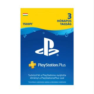 Playstation Plus kártya 3 hónapos (PSN Plus) MULTI