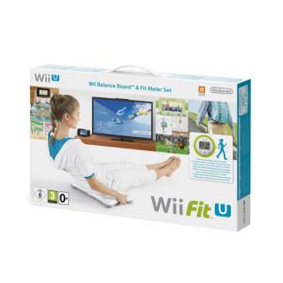 Wii Fit U + Fit Meter + Fit Balance Board WII U