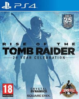 Rise of the Tomb Raider 20 Year Celebration Edition  (használt) PS4