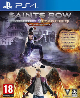 Saints Row IV Re-Elected + Gat Out Of Hell First Edition PS4