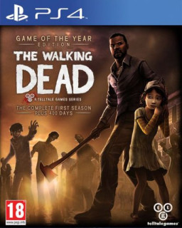 The Walking Dead Game of the Year Edition PS4