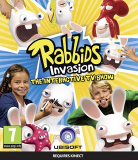 Rabbids Invasion The Interactive TV Show (használt) Xbox One