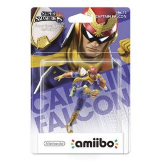 Captain Falcon amiibo figura - Super Smash Bros. Collection AJÁNDÉKTÁRGY