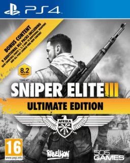 Sniper Elite III (3) Ultimate Edition PS4