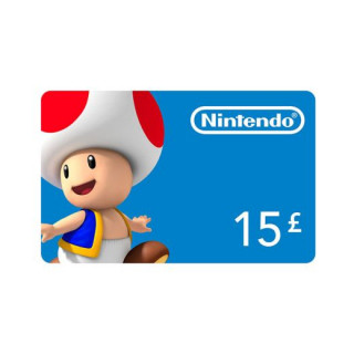 Nintendo eShop Feltöltőkártya 15 Font MULTI