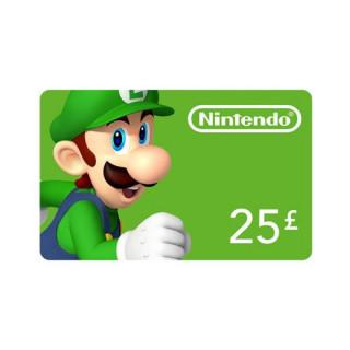 Nintendo eShop Feltöltőkártya 25 Font MULTI