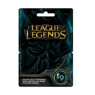 League of Legends Feltöltőkártya 9 Font PC