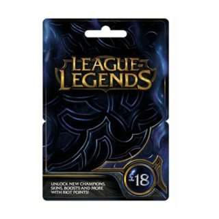 League of Legends Feltöltőkártya 18 Font PC