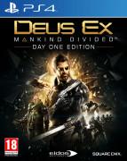 Deus Ex Mankind Divided Day One Edition (használt) PS4