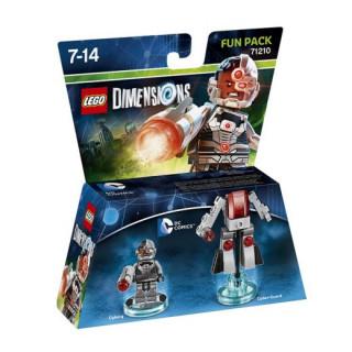 LEGO Dimensions DC Comics Fun Pack (Cyborg, Cyber-Guard) Ajándéktárgyak