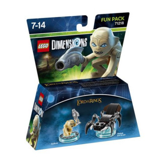 LEGO Dimensions Lords of the Rings Fun Pack (Gollum, Shelob the Great) Ajándéktárgyak
