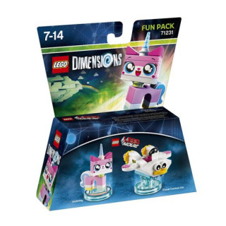 LEGO Dimensions The LEGO Movie Fun Pack (Unikitty, Cloud Cuckoo Car) Ajándéktárgyak