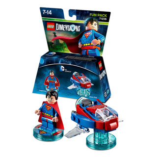 LEGO Dimensions DC Comics Fun Pack (Superman, Hover Pod) Ajándéktárgyak
