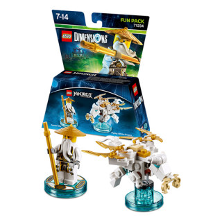 LEGO Dimensions LEGO Ninjago Fun Pack (Sensei Wu, Flying White Dragon) Ajándéktárgyak