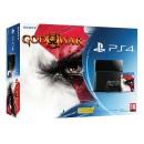 Playstation 4 (PS4) 500 GB + God of War III (3) Remastered