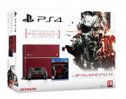 Playstation 4 (PS4) 500GB (Limitált Kiadás) + Metal Gear Solid 5 (MGS V) The Phantom Pain PS4