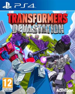 Transformers Devastation (használt) PS4