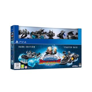 Skylanders Superchargers Dark Edition Starter Pack  PS4