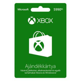 Xbox Live Feltöltőkártya 5990 HUF MULTI