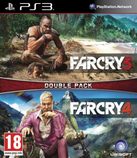 Ubisoft Double Pack - Far Cry 3 & 4 PS3
