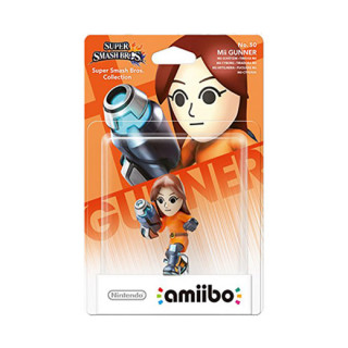 Mii Gunner amiibo figura - Super Smash Bros. Collection AJÁNDÉKTÁRGY