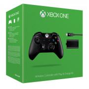 Xbox One Wireless (Vezeték nélküli) Controller (Jack dugóval) + Play & Charge Kit XBOX ONE
