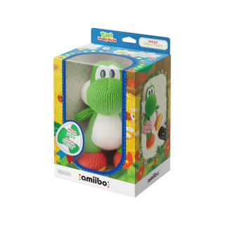 Mega Yarn Yoshi amiibo figura - Yoshi's Woolly World Collection AJÁNDÉKTÁRGY