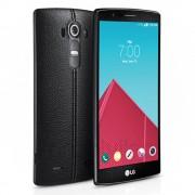 LG G4 (H815) Fekete (Bőr mintás) MOBIL