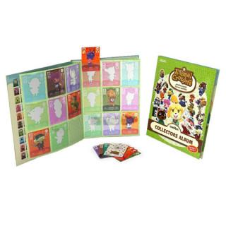 Animal Crossing Collector's Album (1. Széria) + Kártyacsomag Ajándéktárgyak