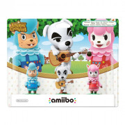 Animal Crossing amiibo Pack (Reese, Cyrus, K.K.) AJÁNDÉK