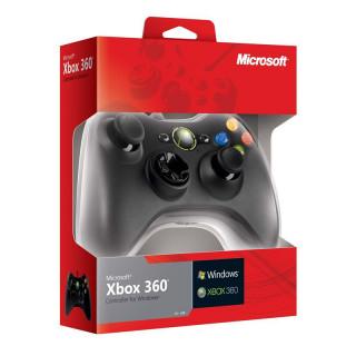 Xbox 360 Wired (Vezetékes) Controller (Fekete) Több platform