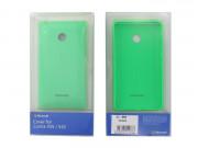 Microsoft Lumia 435/532 szilikon hátlap zöld Mobil