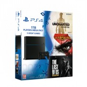 Playstation 4 (PS4) 1TB Players Mega Pack PS4