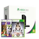 Xbox 360 E 4 GB + Kinect + Adventures + Kinect Sports + Fable Anniversary