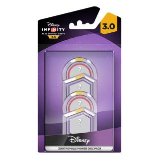 Disney Infinity 3.0 Zootropolis Power Disc Pack Ajándéktárgyak