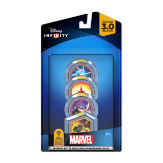 Disney Infinity 3.0 Marvel Battlegrounds Power Disc Pack Ajándéktárgyak
