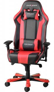 Gamer szék DXRacer King Fekete/Piros (GC-K06-NR-S3) PC