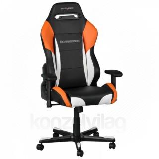 Gamer szék DXRacer Drifting Fekete/Fehér/Narancs (OH/DF61/NWO) PC