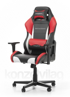 Gamer szék DXRacer Drifting Fekete/Fehér/Piros (OH/DF61/NWR) PC