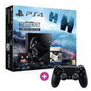 Playstation 4 (PS4) 1TB (Limitált Star Wars Kiadás) + Ajándék Választható Kontroller + Star Wars Battlefront PS4