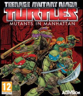 Teenage Mutant Ninja Turtles Mutants in Manhattan (használt) Xbox One