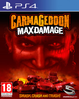 Carmageddon Max Damage (használt) PS4