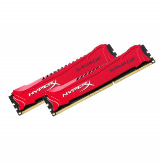 Kingston 8GB/1600MHz DDR-3 HyperX Savage XMP (Kit! 2db 4GB) (HX316C9SRK2/8) memória PC