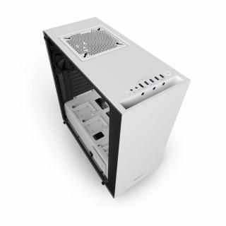 NZXT Source 340 Elite (Matt fehér) (Táp nélküli) ATX ház (CA-S340W-W2) PC